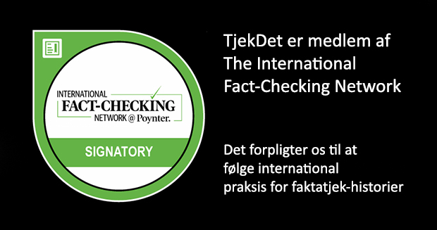 International fact checking network