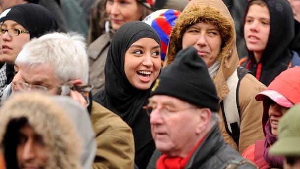 hvor mange muslimer er der i danmark