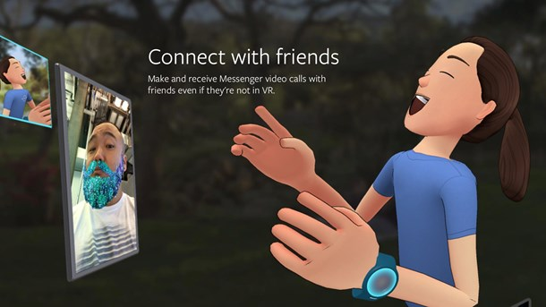 Facebook rykker ind i Virtual Reality